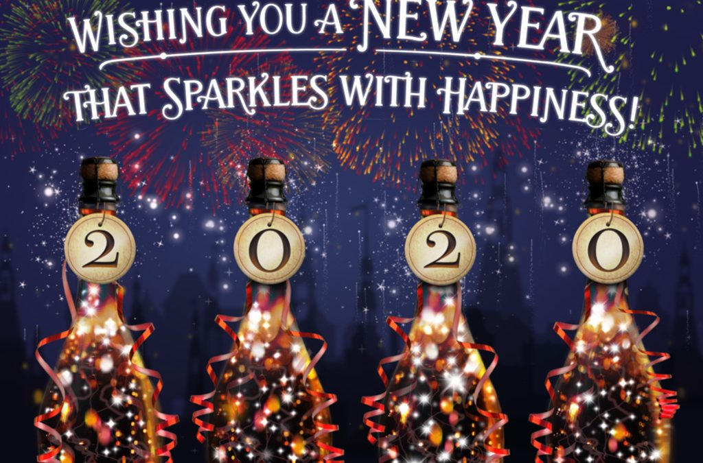 2020: Sparkle With Happiness